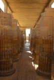 Antyczna świątynia blisko ostrosłupa Djoser Egipt Obraz Royalty Free