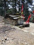 Antyczna świątynia uttrakhand India obrazy royalty free