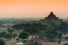 Antyczna świątynia w Bagan, Myanmar Obrazy Stock