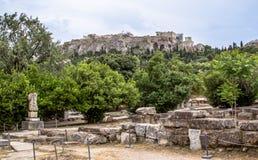 Antyczna Agora, Ateny, Grecja Zdjęcie Stock