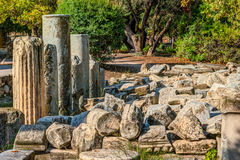 Antyczna Agora, Ateny, Grecja Piękna krajobrazowa fotografia Obrazy Stock