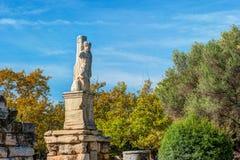Antyczna Agora, Ateny, Grecja Piękna krajobrazowa fotografia Fotografia Stock