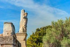 Antyczna Agora, Ateny, Grecja Piękna krajobrazowa fotografia Zdjęcia Stock