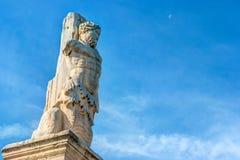 Antyczna Agora, Ateny, Grecja Piękna krajobrazowa fotografia Obraz Royalty Free