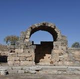 Antyczna agora Corinth Zdjęcie Stock