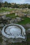 Antyczna agora w Ateny, Grecja Obrazy Stock