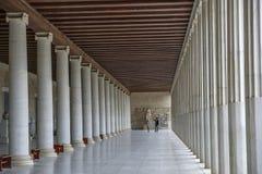 Antyczna agora w Ateny, Grecja Obrazy Royalty Free