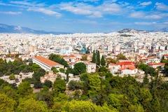Antyczna agora w Grecja Zdjęcia Stock