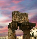 antyczna Apollo grka s Syracuse świątynia Fotografia Royalty Free