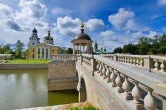 Antyczny ortodoksyjny churh. Moskwa. Rosja. fotografia stock