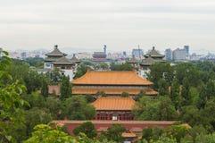 Antyczna architektura w Beijing zdjęcia royalty free
