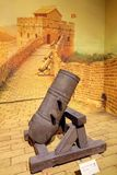 Antyczna artyleria zdjęcie royalty free