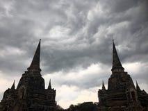 Antyczna Ayutthaya świątynia Obrazy Stock