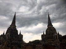 Antyczna Ayutthaya świątynia Obraz Stock