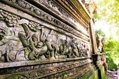 Antyczna Bali ulga Zdjęcia Royalty Free