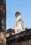 Antyczny Buddha plecy obraz stock