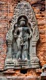 Antyczna buddyjska khmer sztuka Obrazy Stock