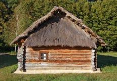 antyczna budy dachu słoma Obraz Stock
