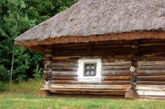 antyczna budy dachu słoma Zdjęcie Stock
