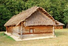 antyczna budy dachu słoma Fotografia Stock