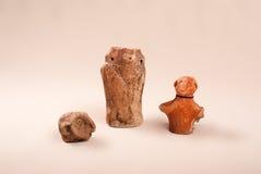 Antyczna ceramiczna kultura Cucuteni Obrazy Royalty Free