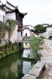 antyczna chińska wioska zdjęcie stock