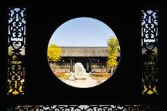 Antyczna Chińska architektura Obraz Royalty Free
