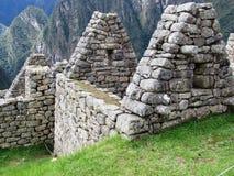Antyczna ściana przy Mach Picchu Obraz Stock