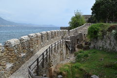 Antyczna ściana w Alanya, Turcja Zdjęcie Royalty Free