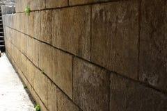 Antyczna ściana w Banias, Izrael Zdjęcia Royalty Free