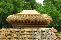 antyczna dachowa świątynia Obrazy Stock