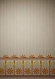 antyczna dekoracj świątyni ściana Obrazy Stock