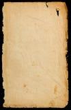 Antyczna drzejąca papierowa tekstura Zdjęcie Stock