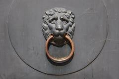 antyczna drzwiowa rękojeść Fotografia Royalty Free