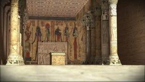 antyczna egipska świątynia Zdjęcie Stock