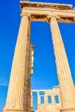 Antyczna Erechtheion świątynia w Ateny, Grecja obraz stock