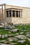antyczna erechtheum grka świątynia obrazy royalty free