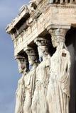 antyczna erechtheum grka świątynia obraz stock