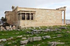 antyczna erechtheum grka świątynia zdjęcia stock