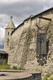 antyczna forteczna sroga ściana Obrazy Stock