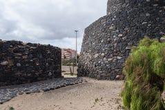 Antyczna fortyfikacja zdjęcia stock