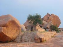 antyczna hampi kamienia świątynia Fotografia Royalty Free
