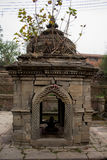 Antyczna Hinduska bogini świątynia Nepal Obraz Stock