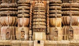 Antyczna Indiańska architektura Fotografia Stock