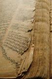 Antyczna język arabski książka Fotografia Royalty Free