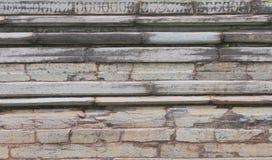 Antyczna kamienna ściana świątynia obraz stock