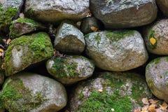 Antyczna kamienna ściana projektująca ochraniać obraz stock
