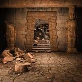 Antyczna kamienna świątynia Zdjęcie Stock