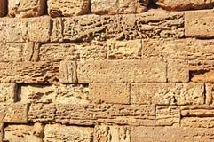 antyczna kamienna ściana Fotografia Stock