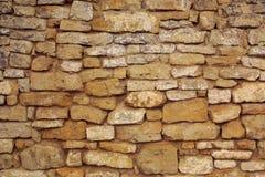 Antyczna kamienna ściana Zdjęcie Royalty Free